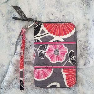 Cheery Blossom Vera Bradley Zippered Wallet NWOT